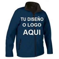 Chaqueta Softshell  Azul Marino