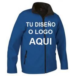 Chaqueta Softshell  Azul Royal