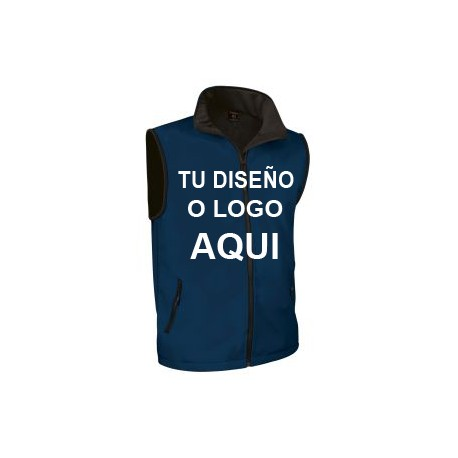 Chaleco Softshell Azul Marino