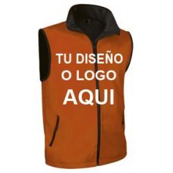 Chaleco Softshell Naranja