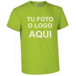 camiseta verde manzana