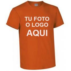 camiseta naranja