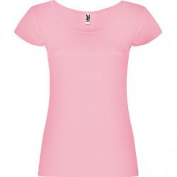 camiseta Guadalupe rosa claro