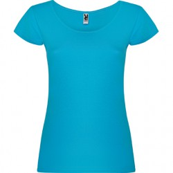 camiseta Guadalupe turquesa