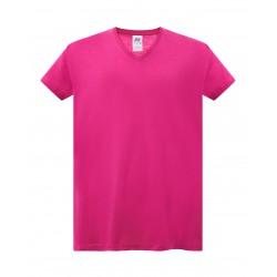 camiseta curves fucsia