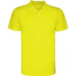 Polo poliester tecnico amarillo