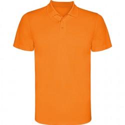 Polo poliester tecnico naranja
