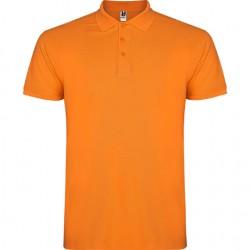 Polo algodon naranja