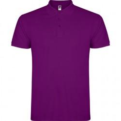 Polo algodon purpura
