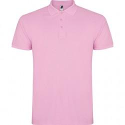 Polo algodon rosa claro