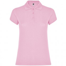 Polo algodon mujer rosa claro