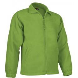 Chaqueta Polar verde manzana Personalizada