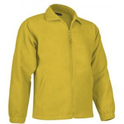 Chaqueta Polar amarillo Girasol Personalizada