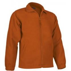 Chaqueta Polar naranja Personalizada